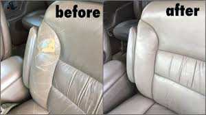 however brianne red the entire interior with our stock beige a 300 detailing could not rejuvenate the leather as cc likes to say it s easier to