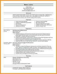 A Perfect Resume Example - Sarahepps.com -