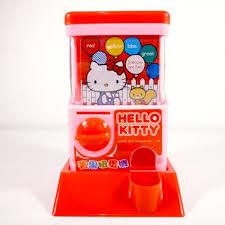 Gashapon Vending Machine Magnificent Hello Kitty Bingo Game Mini Gashapon Vending Machine Sanrio A Cute