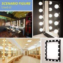 <b>CanLing LED 12V Makeup</b> Vanity Mirror Light Dimmable Dressing ...