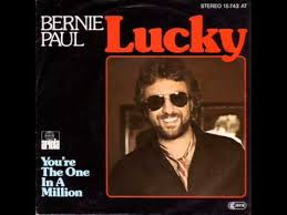 Bernie Paul Youre The One In A Million Music Track On