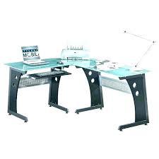 shaped computer desk office depot. Office Depot Catalog Computer Table Glass Top Desk L Shaped