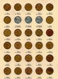 Wheat Pennies From 1941 To 1950 Goldbullion Coin