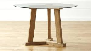 48 x 48 glass table top teak reclaimed wood dining table with round glass top 30
