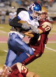 Ramona's Danny Scherer gets brought down by Mission Hills Brian ...