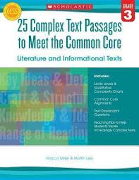Common Core Lexile Levels By Grade Chart 25 Complex Text Passages To Meet The Common Core Literature