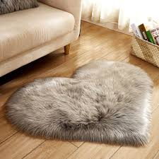 Wolle Nachahmung Schaffell Teppiche Faux Pelz Nicht Slip