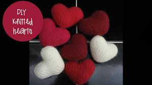 Knitted Heart Pattern Delectable KNITTING TUTORIAL PUFF HEART YouTube