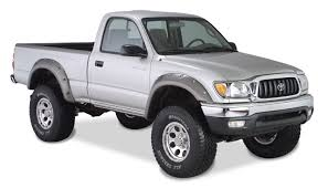 Bushwacker Cut Out Style Fender Flares - 1995-2004 Toyota Tacoma ...