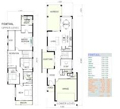 lovely home plans for narrow lots or great home plans for small lots on minimalist fireplace