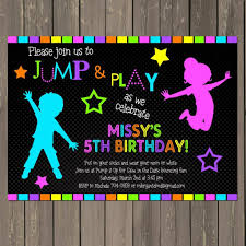 amazing neon party invitations party ideas hq neon party invitations bounce house neon glow in the dark themed birthday party invitation