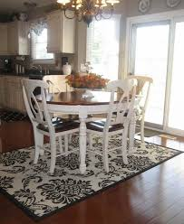 rug under dining table room area rugs dinning carpet round kitchen for coastal best large floor