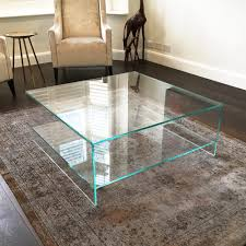 what to put on a glass coffee table luxury judd square glass coffee table with shelf