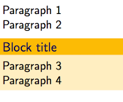 Modifying Spacing Between Paragraphs But Not Before The