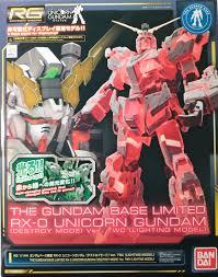 Full Review Rg 1 144 The Gundam Base Limited Rx 0 Unicorn
