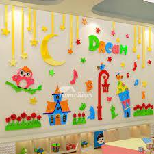 wall art stickers decor 3d acrylic