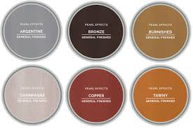 General Finishes Color Chart General Finishes Pearl Effects