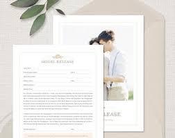 Photography Model Release Form For Portrait Photographers