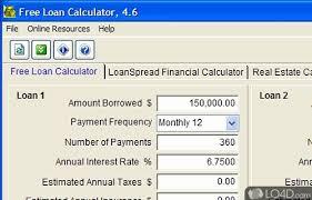 Free Loan Payment Calculator Free Loan Calculator Download