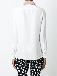 altuzarra embellished collar shirt 101 natural white women clothing shirts altuzarra cargo pants