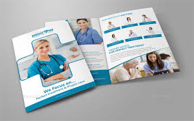 Medical Brochures Templates Impressive Bifold Brochure Template Toddbreda