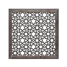 lattice wall art home decor inch square patterned lattice framed a liked on featuring home home lattice wall art
