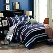 red navy and white striped bedding uk