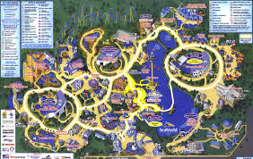 theme park page  park map archive
