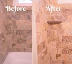 to match my shower and accent tile i used the tiledoctor s stainmaster colored crystal glass grout called beige havana