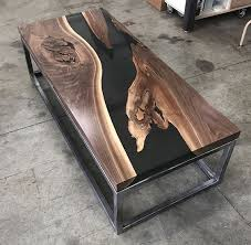 awesome wood table wood resin