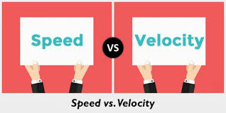 Speed Vs Velocity Difference Between Speed And Velocity