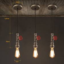 vintage industrial lighting. Vintage Industrial Lighting Loft Mini Rust Metal Water Pipe Single Pendant Lights Home Lightings Lamp For Restaurant-in From L