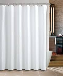 plain amazing fabric shower curtain maytex water repellent fabric shower curtain or liner in white