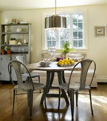 Dinning Rooms:Eclectic Dining Room With Black Hutch And Classic Chandelier  Traditional Dining Room With
