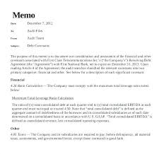Basic Memo Template Executive Templates Summary Memorandum