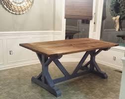 diy farmhouse table build