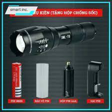 Đèn Pin Police Siêu Sáng Chuyên Dụng Đi Cắm Trại Du Lịch Đèn Đi Phượt Bóng  Led Mini Cầm Tay Chống Nước Chiếu Xa 180g - Đèn pin