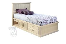 unfinished wood bed custom built unfinished maple wood twin bed with pullout doors and drawers unfinished unfinished wood bed