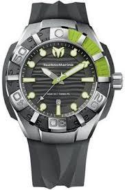 • the world s catalog of ideas technomarine blackreef strap grey and lemon stainless steel mens watch 512002 by technomarine