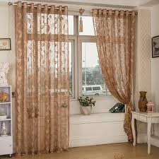 window screening velor leaves natural modern living room curtain chinese net curtains 6412 affiliate