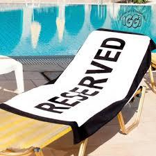 cool beach towel designs. Reserved Beach Towel Cool Designs