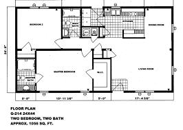 double wide floor plans 2 bedroom. Interesting Wide Double Wide Mobile Home Floor Plans 2 Bedroom 1 Bath In E