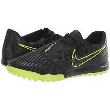 <b>Футзалки Nike Zoom Phantom</b> Venom Pro TF Black/Black/Volt