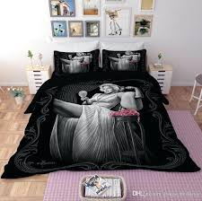 white duvet covers bed bath and beyond ugg cover full size printed bedding set reactive bedrooms fascinating