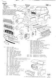 mk1 mini body assembly diagram nearly 2 years late but here are some scans of the old panel catalogues that i ve got