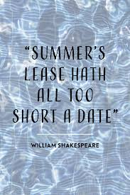 20 Summer Quotes Summertime Sayings