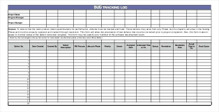 Issue Tracking Template Excel Microsoft Project Issue Tracking Template Bug Tracker Employee Error