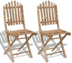 bamboo dining chairs. Image Is Loading Bamboo-Dining-Chairs-2-Piece-Outdoor-Folding-Chair- Bamboo Dining Chairs N
