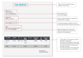 34+ Invoice Format In Excel With Service Tax And Vat Images
