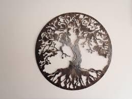 metal wall art tree of life uk